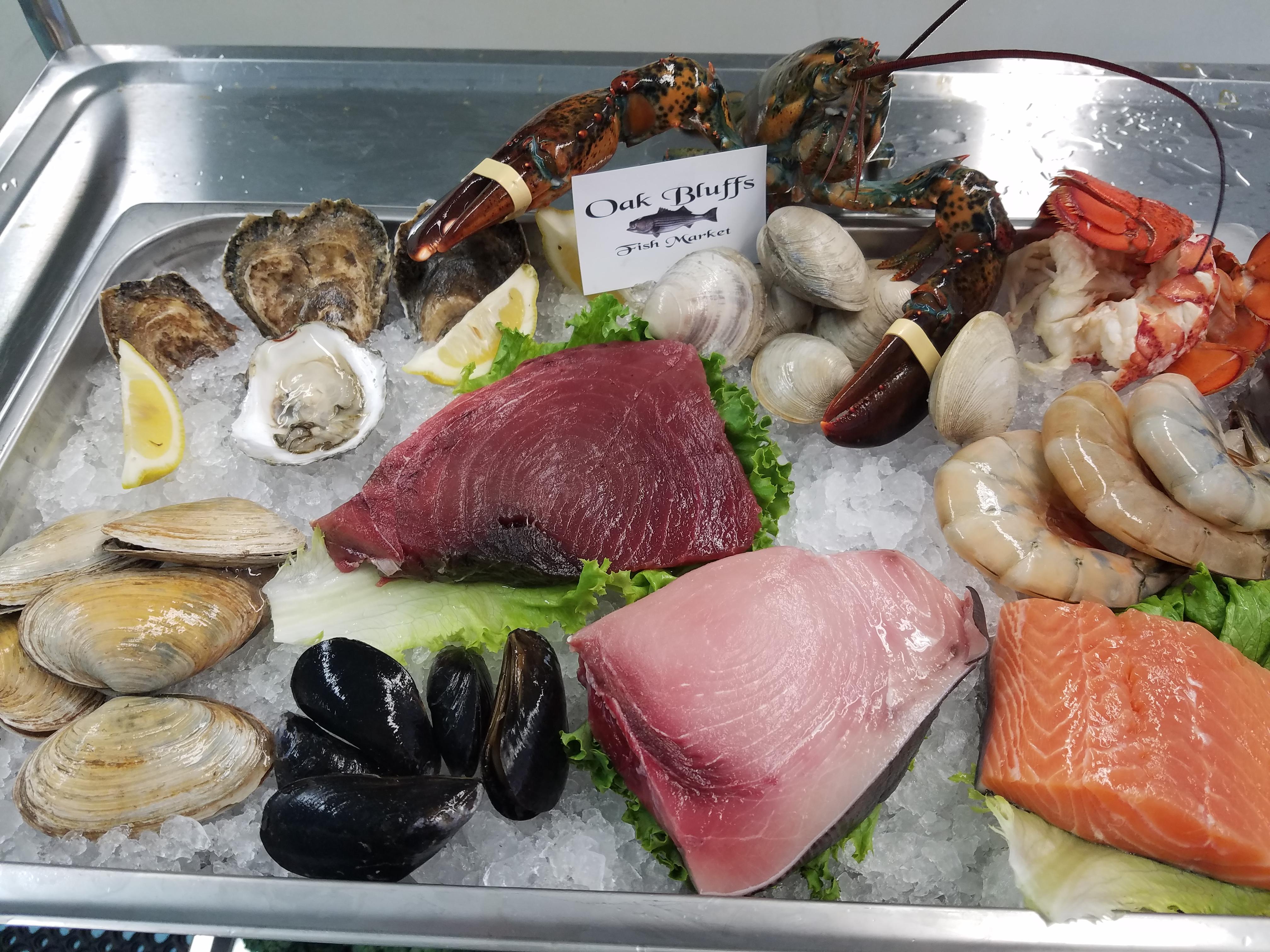 Mmmm seafood...