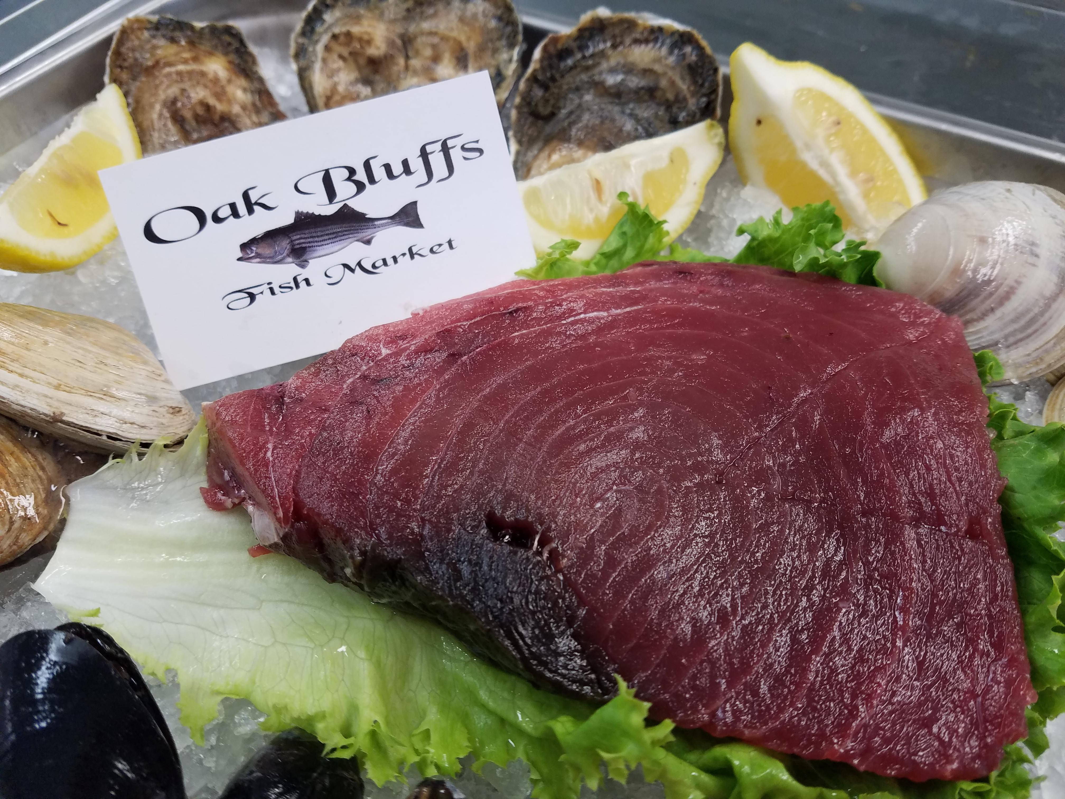 Fresh Local Fish Martha's Vineyard - Oak Bluffs Fish Market
